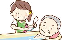お風呂の介護